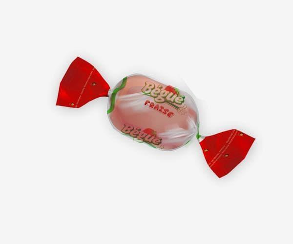 bonbon bégué saveur fraise
