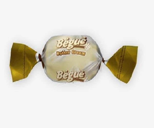 bonbon bégué saveur butter cream transparent